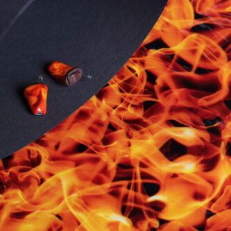 Steiner Hoergeraete Bayreuth Atelier Material Fire